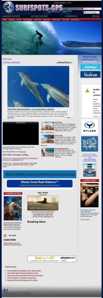 SurfSpots GPS