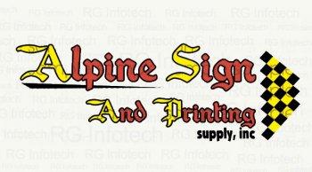 Alpine Sign
