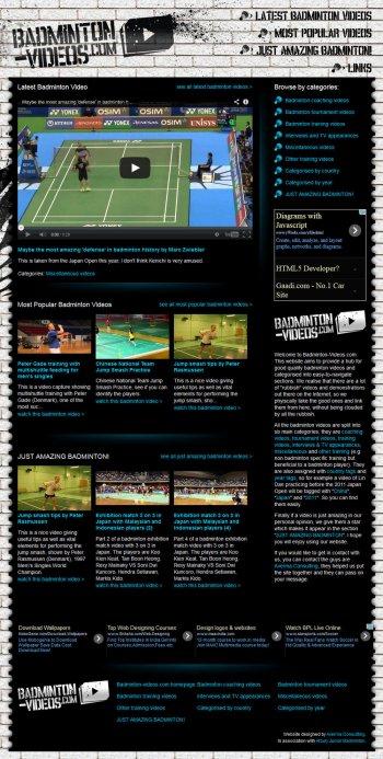 Badminton Videos