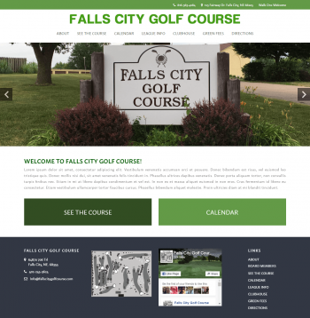 Falls City Golf Course