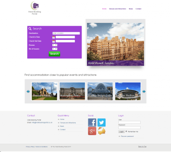 The Hotel Booking Portal